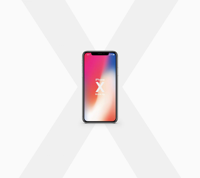 Free iPhone X Mockup PSD