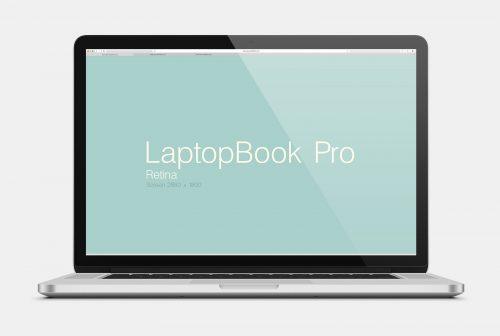 Laptop Mockup Design