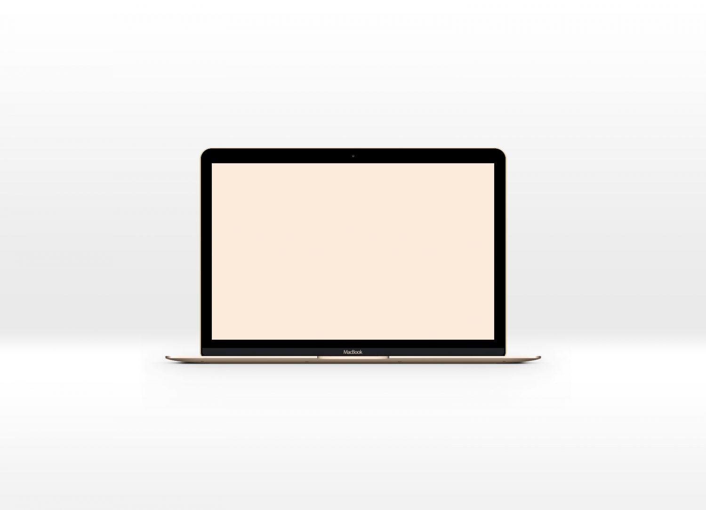 New Macbook PSD Mockup