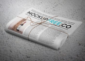 Newspaper / Newsletter Mockup