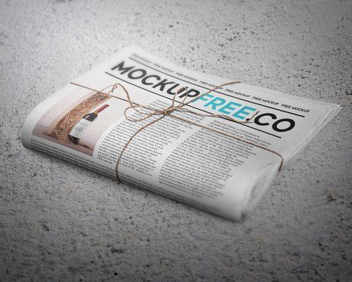Newspaper / Newsletter Mockup