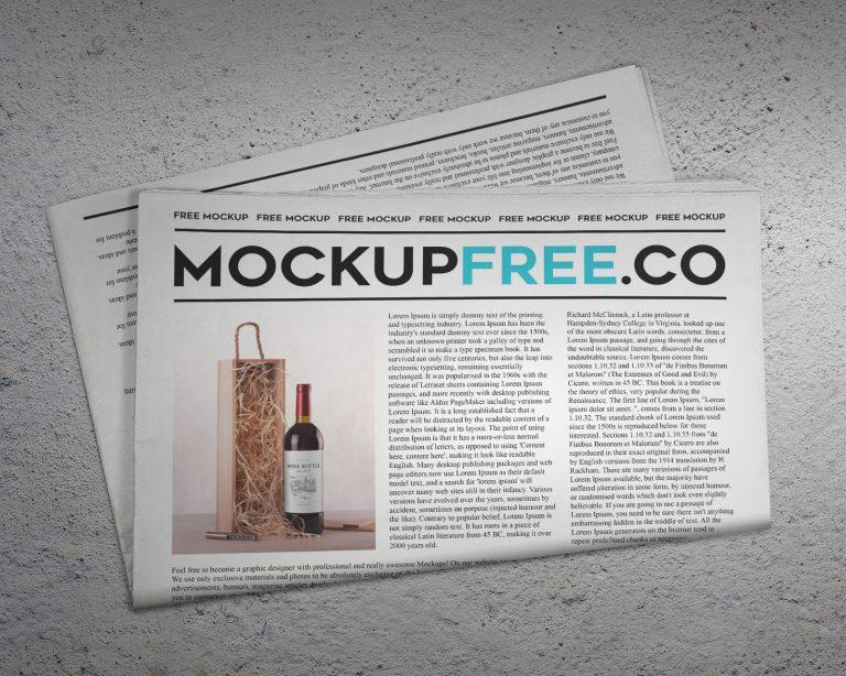 Newsletter Mockup