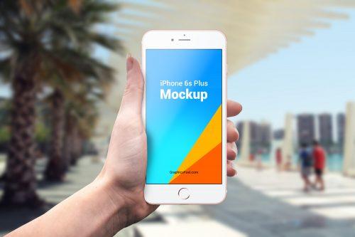 Outdoor iPhone Mockup