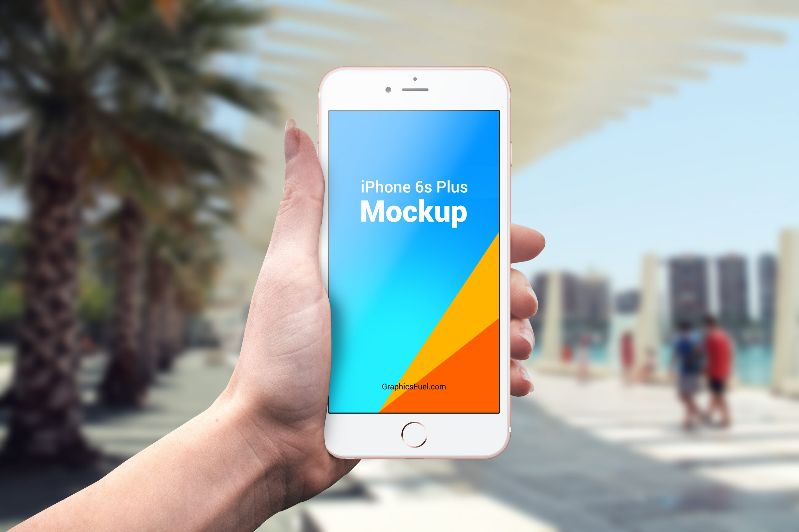 Outdoor iPhone Mockup