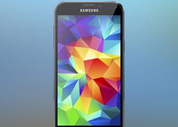 Samsung Galaxy S5 PSD Mockup