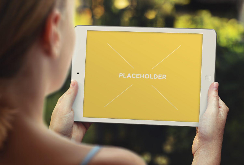 Tablet Pad Mockup Set
