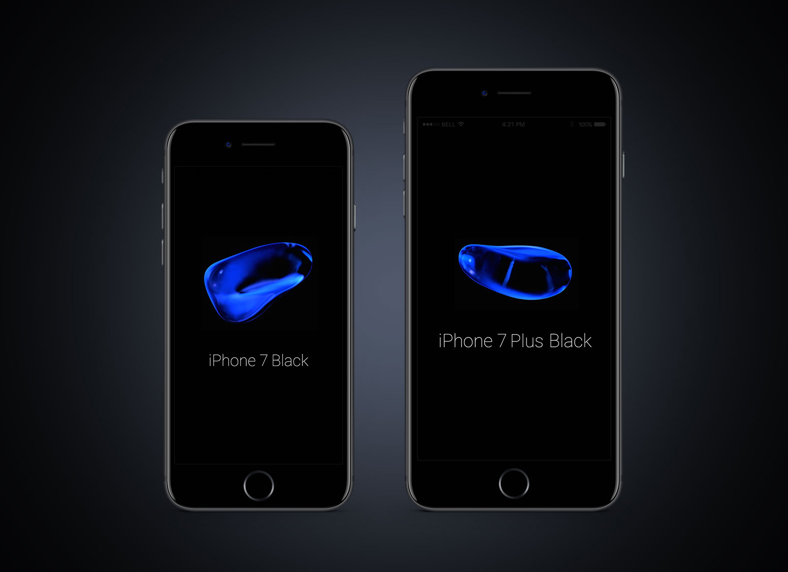 iPhone 7 Plus PSD Mockups