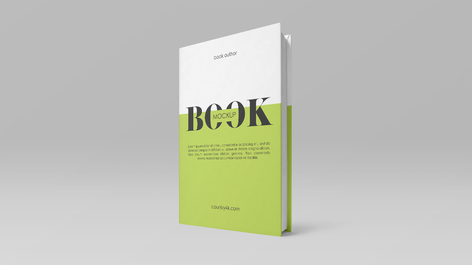 2 Free Hardcover Book Mockups PSD
