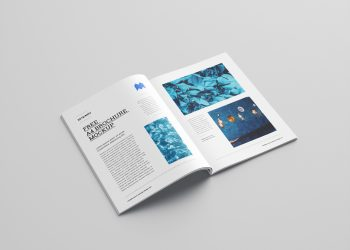 7 Free A4 Brochure Mockups