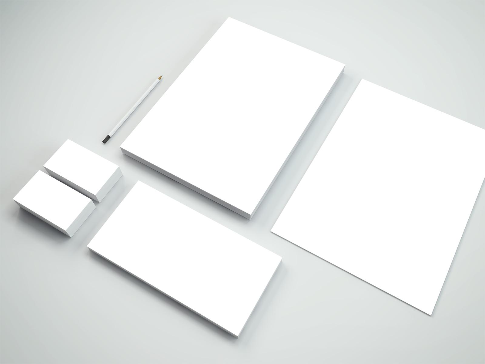 Branding Stationery PSD Mockup #6