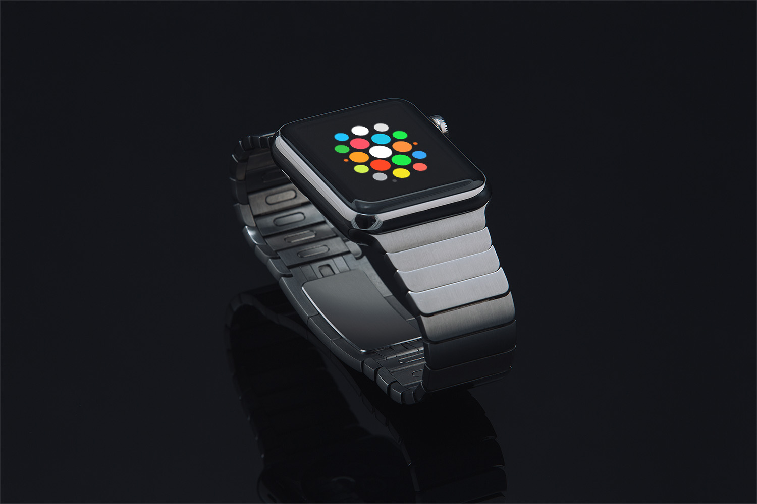 Dark Apple Watch Mockup