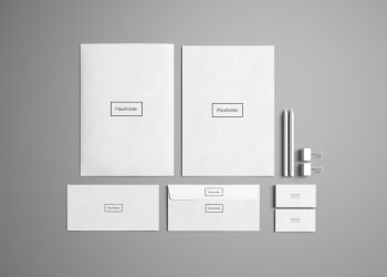 Free Advanced Stationery Mockup