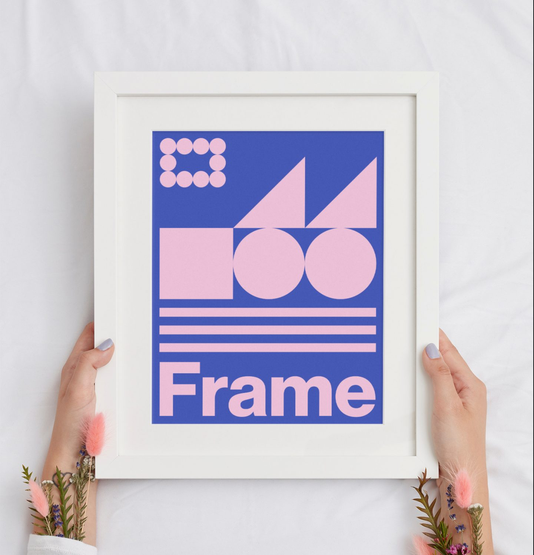 Free Frame Mockup PSD