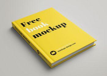 Free Hardcover Book Mockup