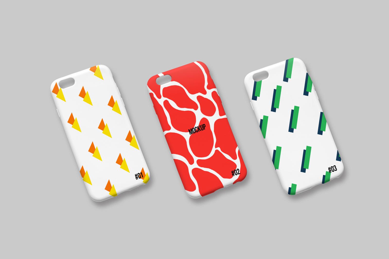 Free Iphone Case Mockup PSD