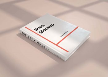Free Perspective Book Mockup PSD