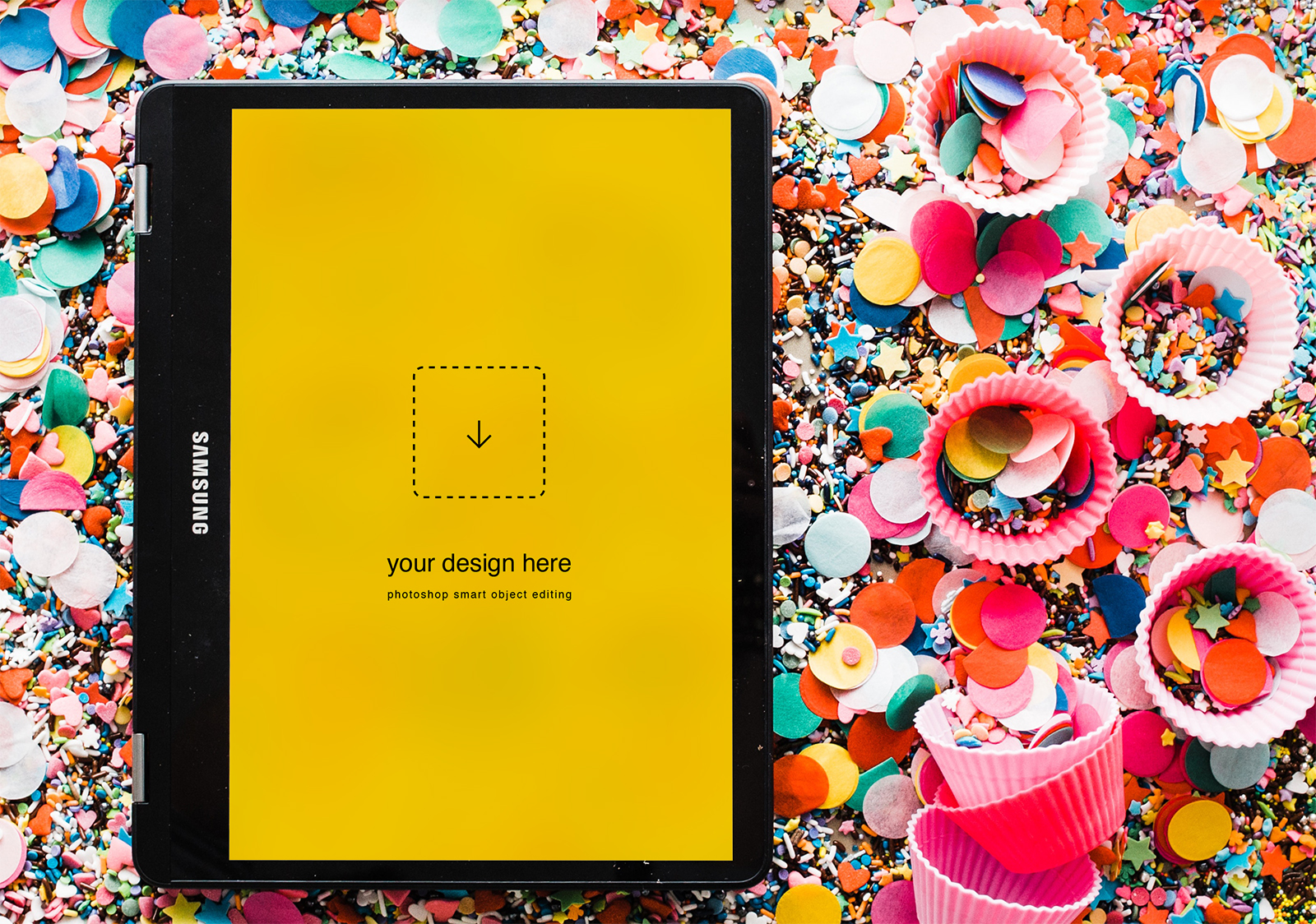 Free Samsung Tablet Mockup