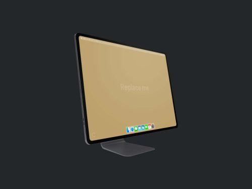 Free iMac Pro Mockup Concept PSD