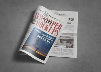Newspaper Mock-up