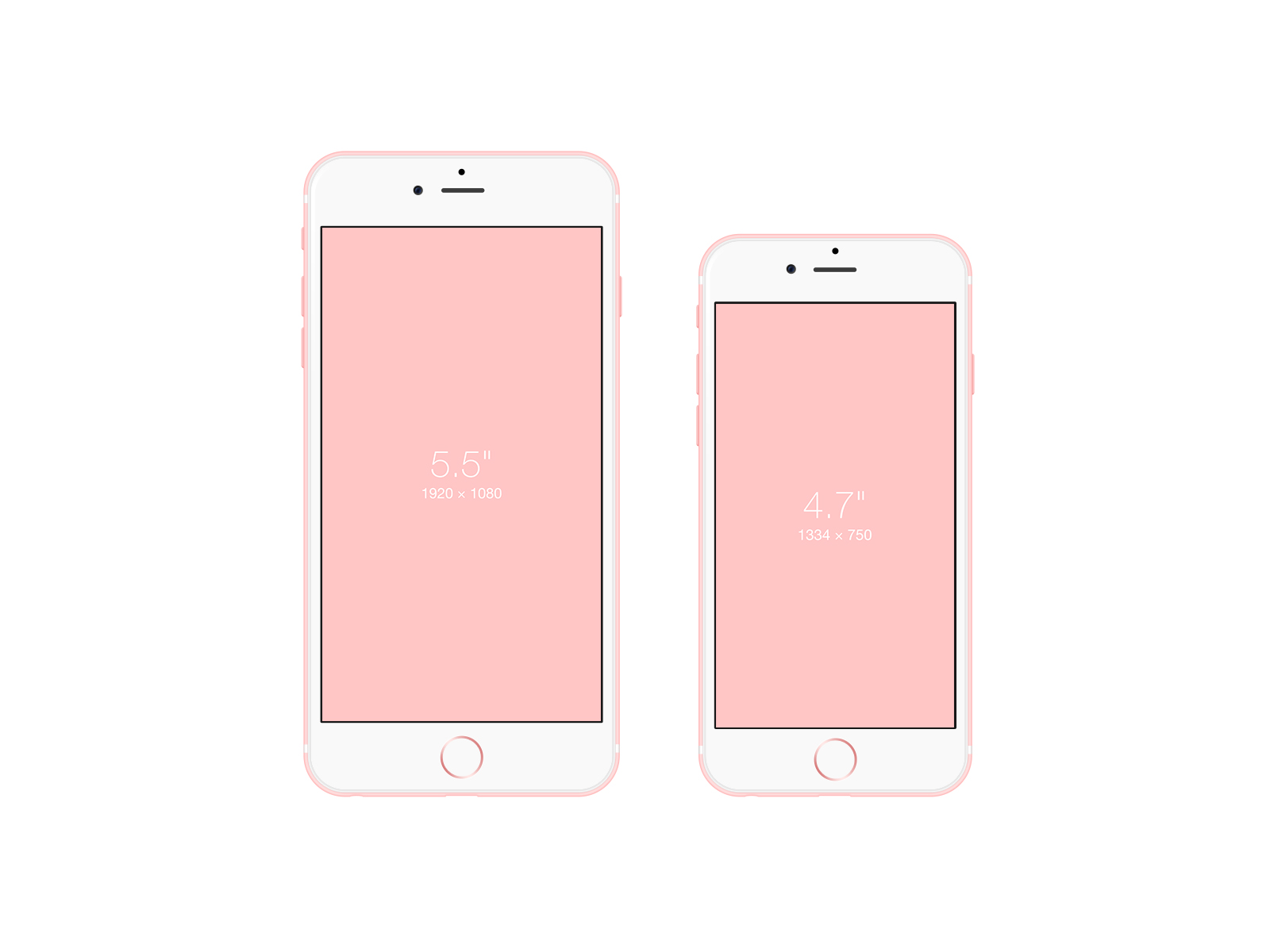 iPhone 6s Free PSD Mockup