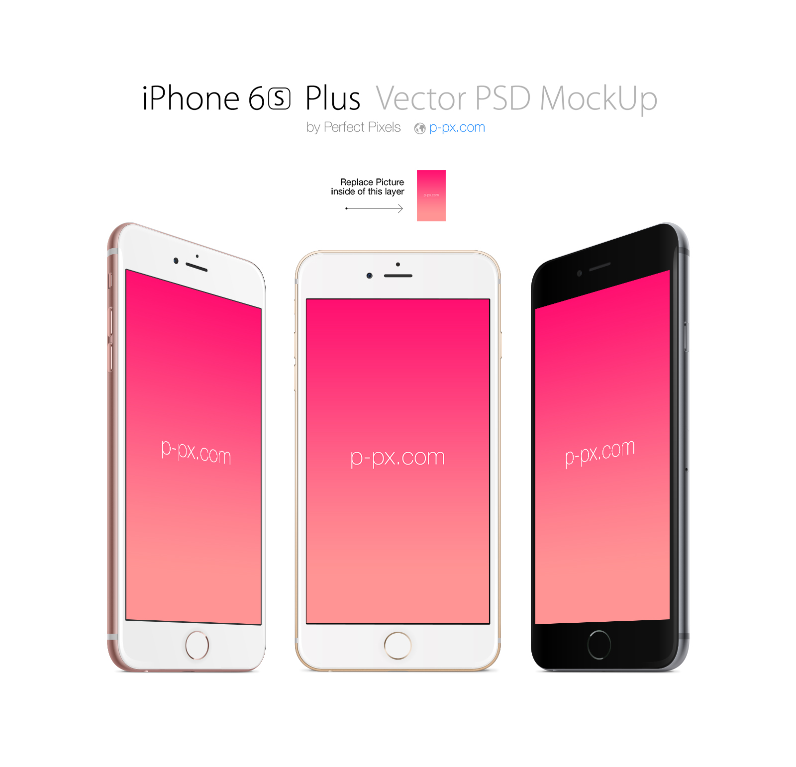 iPhone 6s Plus Mockup Bundle