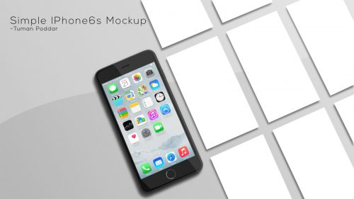 iPhone App Showcase Generator Mockup