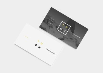 7 Clean Business Card Mockup Sets