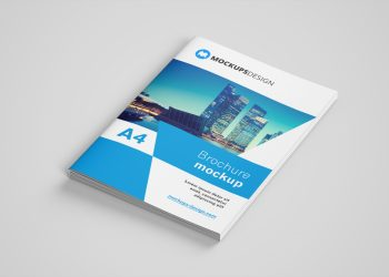 A4 Brochure Catalog Mock-up