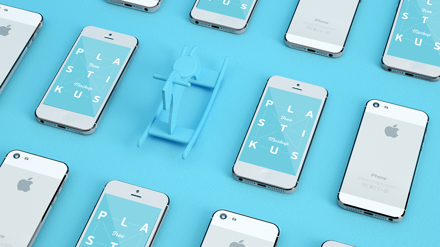 Apple Device Free Mockup