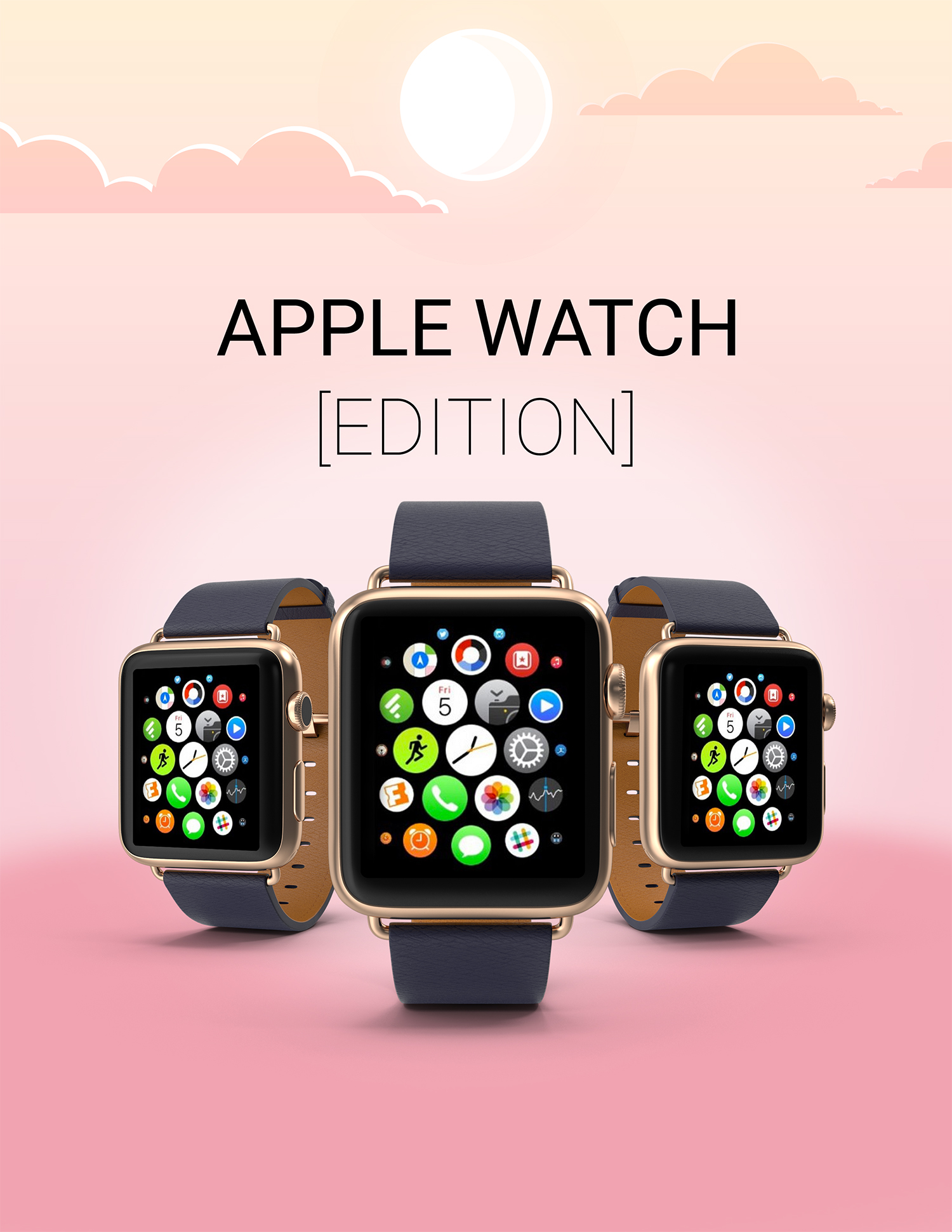 Apple Watch Edition Mockup