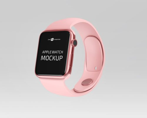Clean Apple Watch Mockup