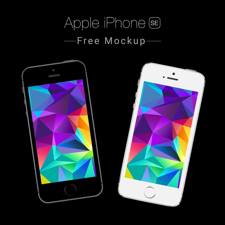 Clean iPhone SE Mockup