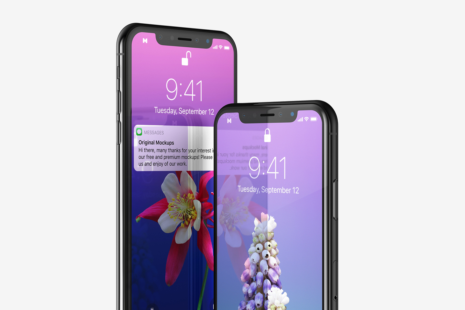 Free iPhone 11 Pro PSD Mockup