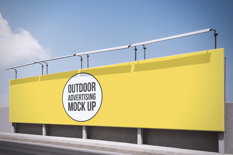 Outdoor Advertising PSD Mockups