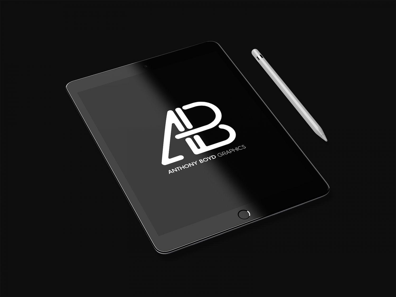Realistic iPad Pro Mockup