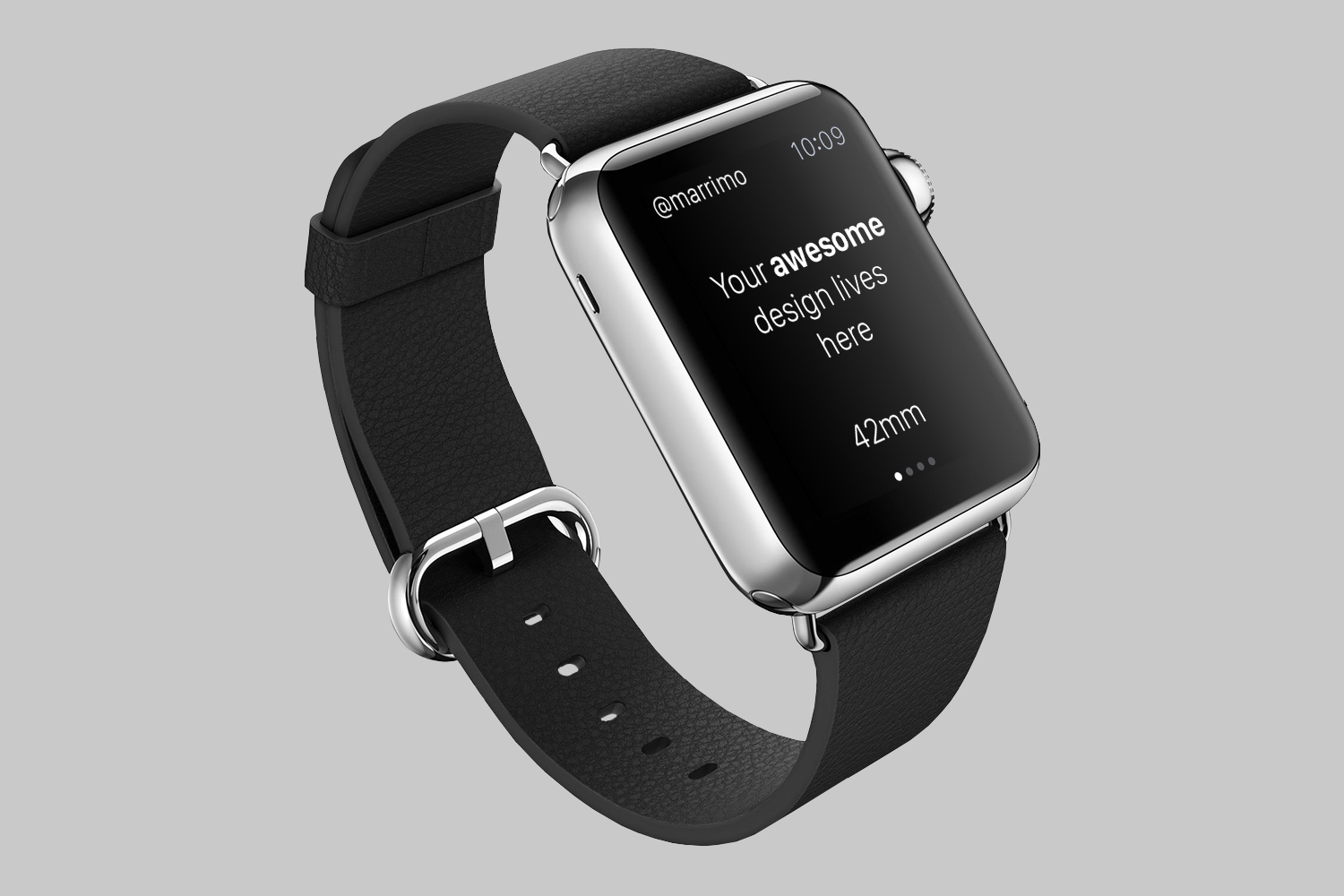 Set of Seven Apple Watch Mockups