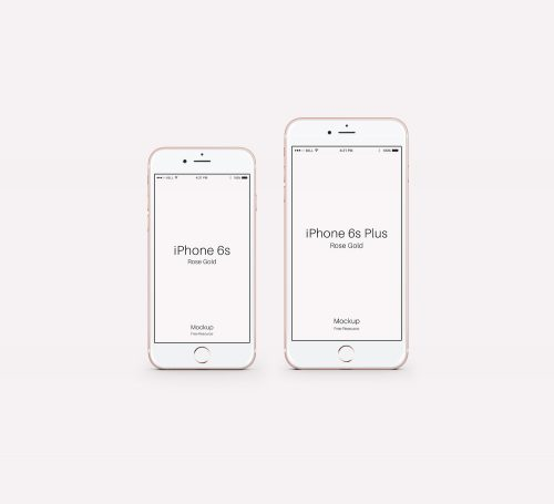 Set of iPhone 6 Mockups