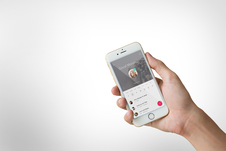 iPhone 6s Hand Mockup