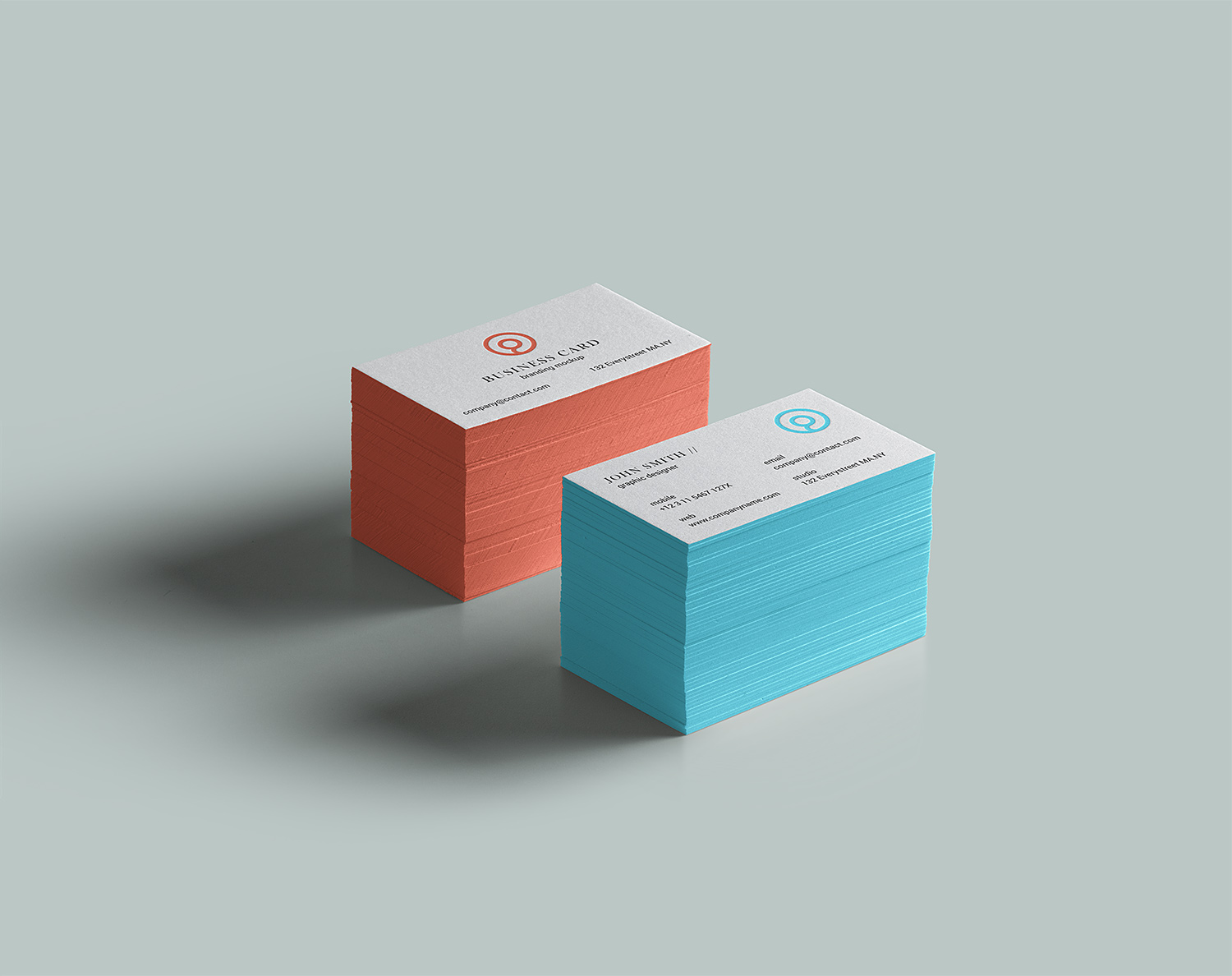 Business Card Brand Free Mockup