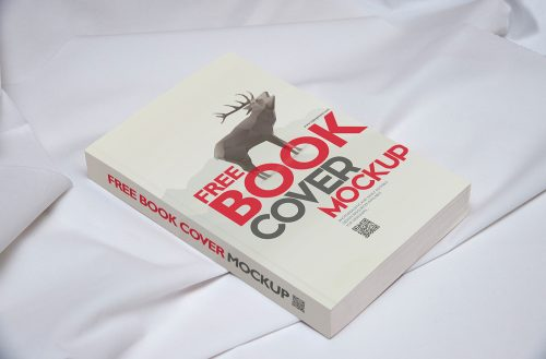 Free Book Mockup PSD Template