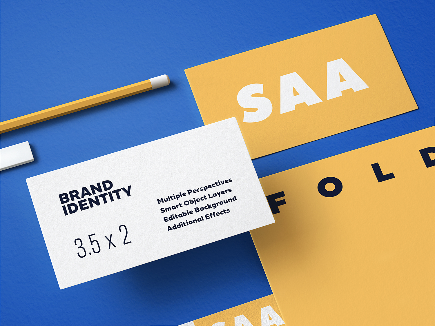Free Branding Stationery Mockup Set