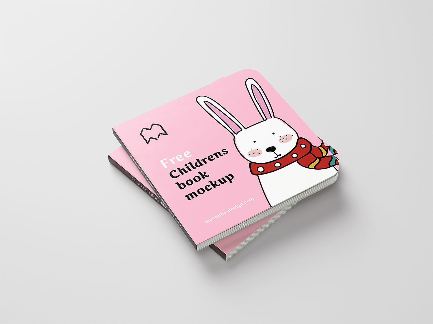 Free Children Book Mockup