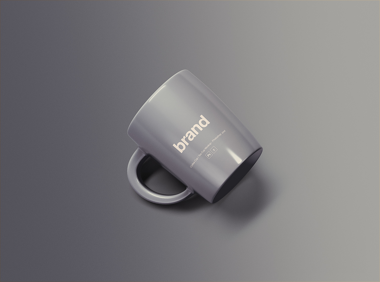 Free Mug Branding Mockup