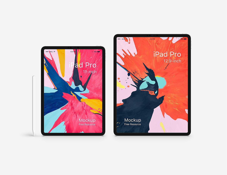 Free iPad Pro New Mockup