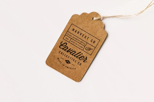 Label Tag Mockup Free Download