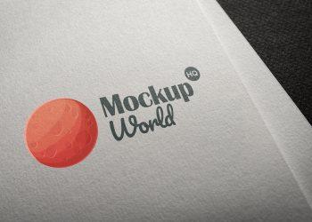 Logo Branding Mockup PSD