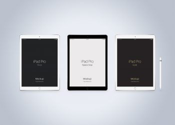 PSD iPad Vector Mockup