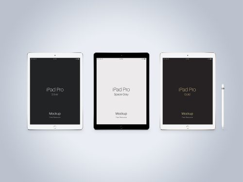PSD iPad Vector Mockup