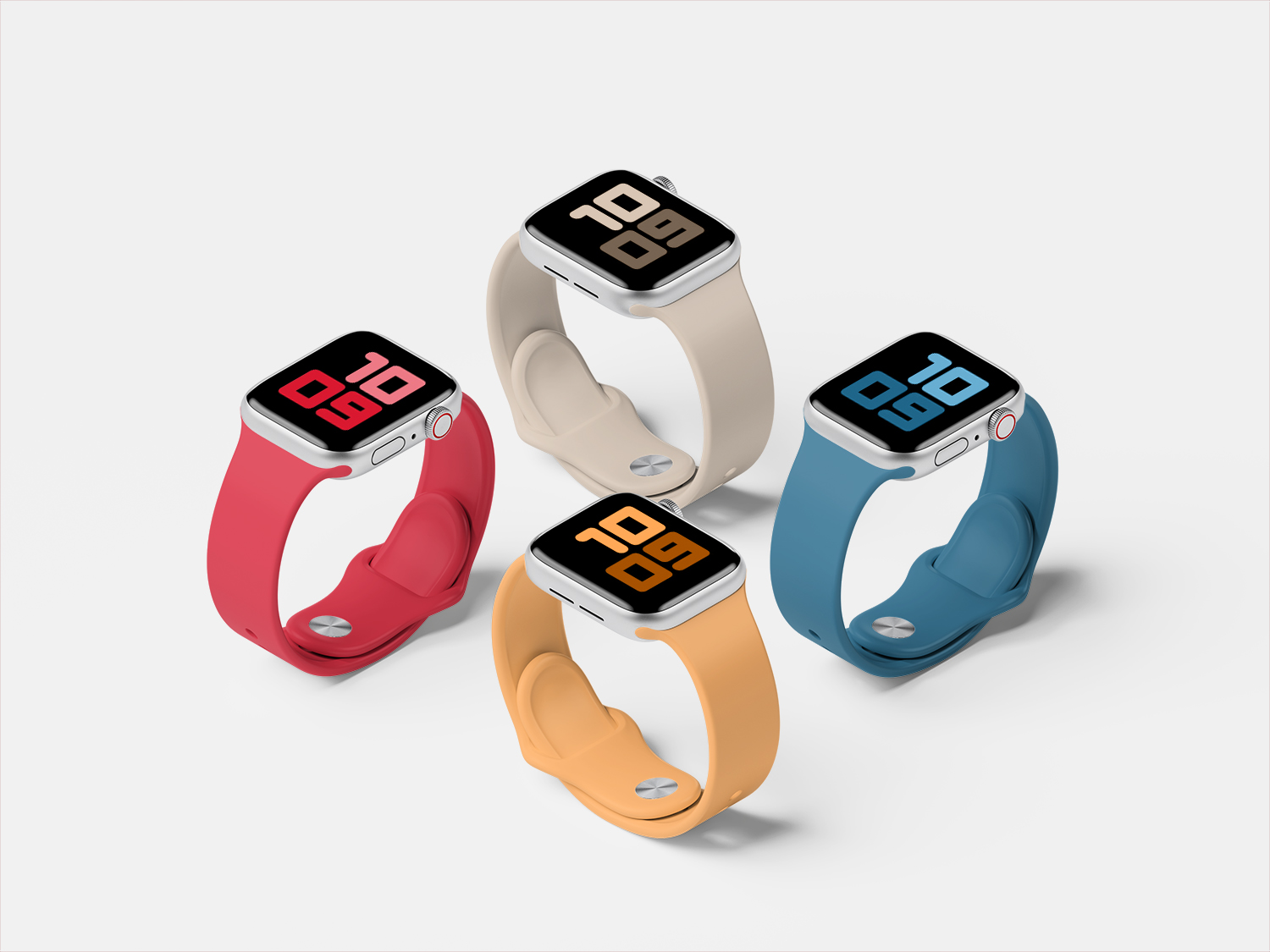 5 Amazing Apple Watch Mockups