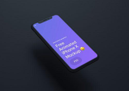 Animated iPhone Mockup